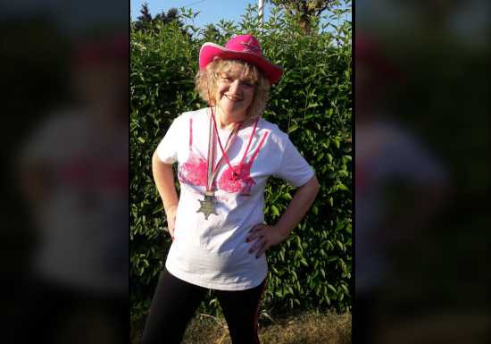 "London MoonWalk 2018 – Gloucester's Ann Davies ""walks the walk"""